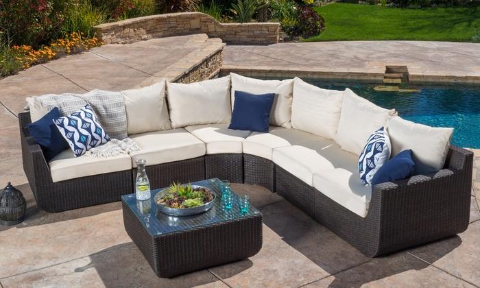 Prado Patio Sectional Sofa Set