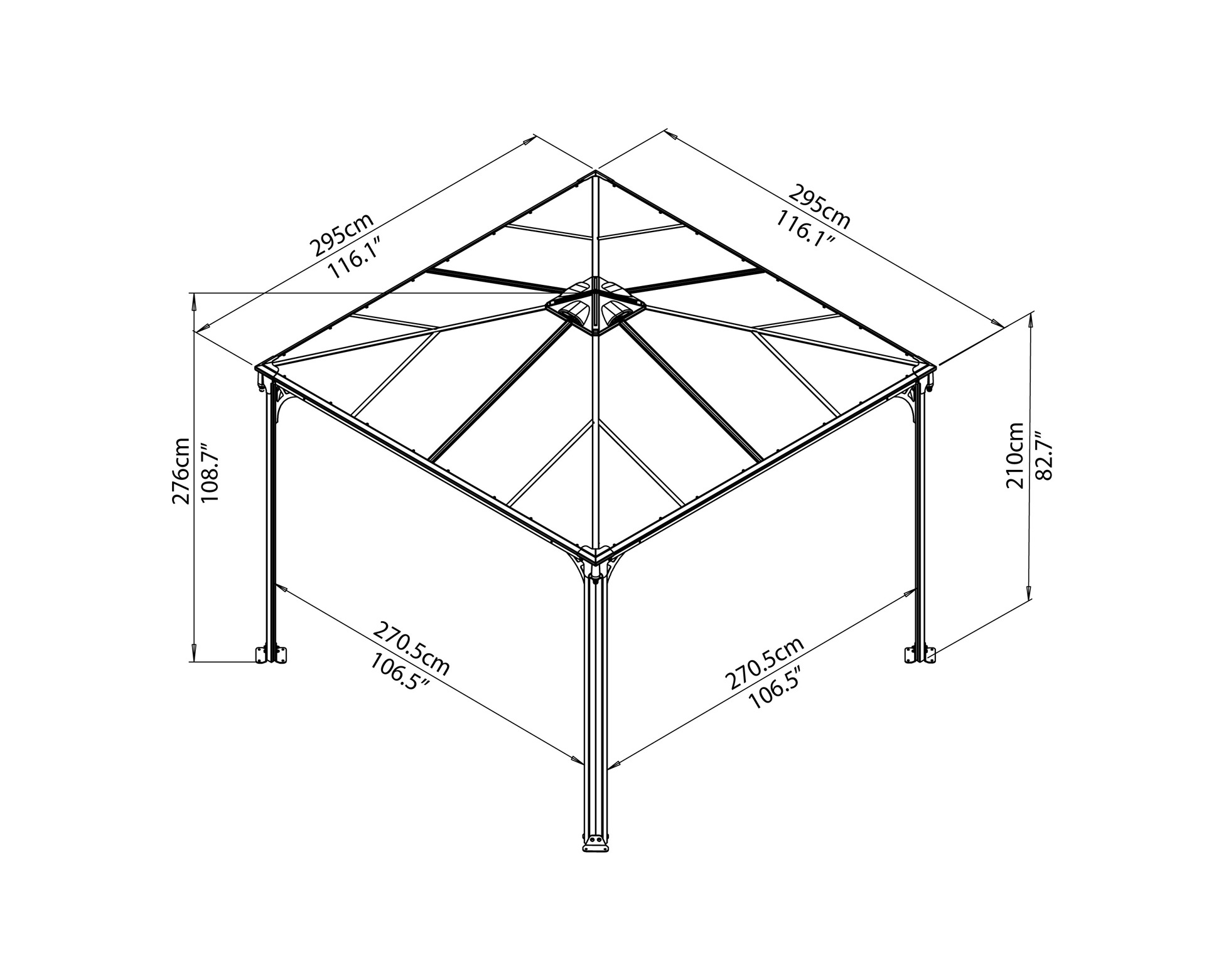 Our Review of the Best 7 Hardtop Gazebos - 2019