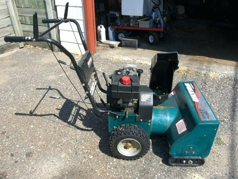 Vintage and Antique Snow Blower Gallery   Heroes of Snow Removal