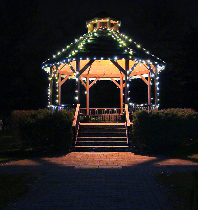 christmas fun gazebo