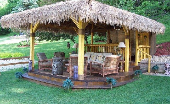 tiki hut shelter