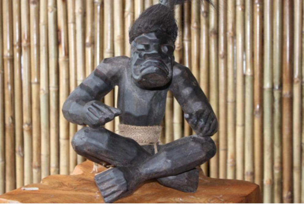 Warrior Chief Primitive Tiki