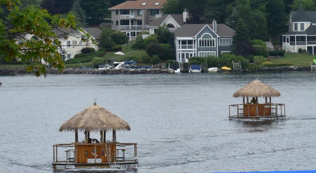 tiki hut boats