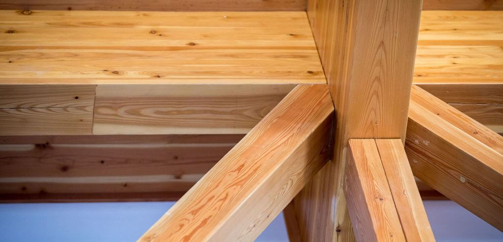 wood for construction beams