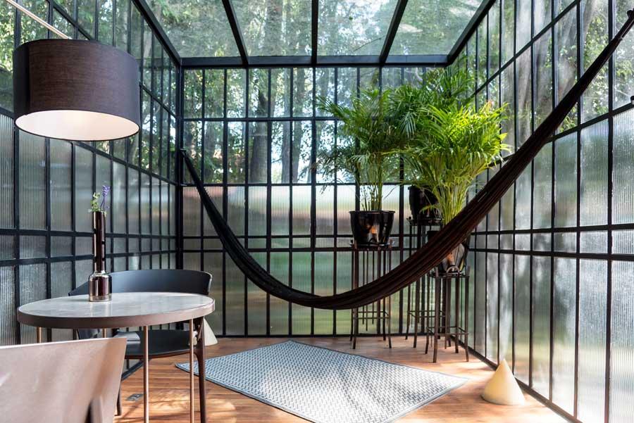 solarium for garden