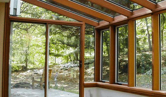 wood solarium